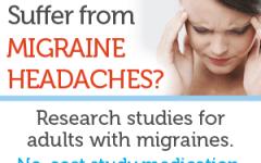 migraine study