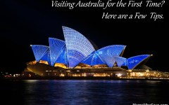 Visiting Australia for the First Time