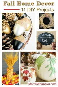 Fall Home Decor — 11 DIY Projects