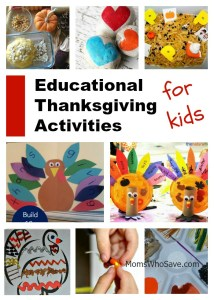 23 Educational Thanksgiving Activities for Kids