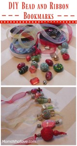 Easy DIY Bead and Ribbon Bookmarks