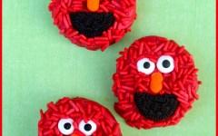 Elmo oreo cookies