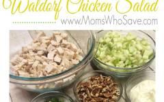 Lemon Poppy Seed Chicken Salad