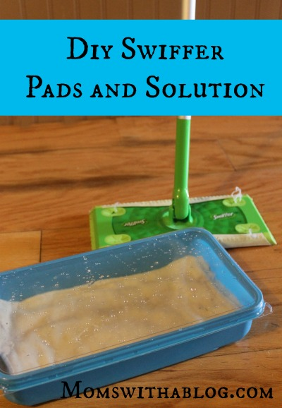 Diy Swiffer Pads And Solution Little Blog In The Country