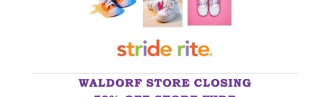 Stride Rite Closing in Waldorf, MD