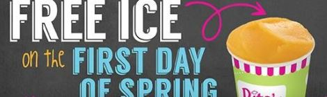 FREE Rita's Italian Ice - FRIDAY, MARCH 20