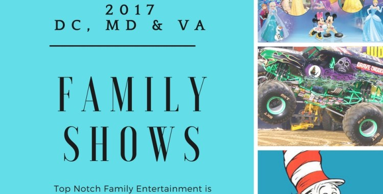 Top Family Entertainment Shows Coming to the DC area