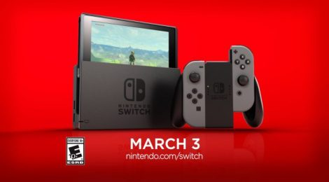 The Count Down is on for the Nintendo Switch