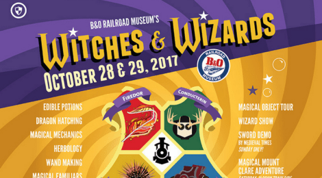 B&O Railroad Museum Halloween Events {+GIVEAWAY}