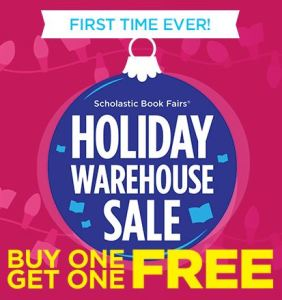 scholastic holiday warehouse book fair laplata