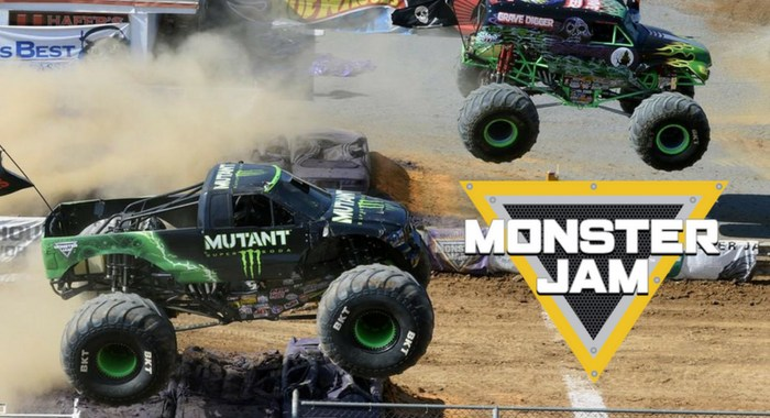 Monster Jam Crashes into Hagerstown + {Giveaway}