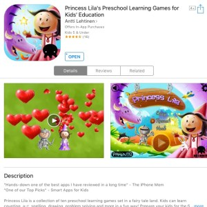 Princess Lila app