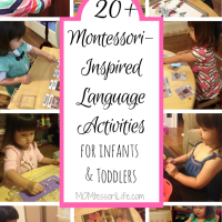 20+ Montessori-Inspired Language Activities for Infants and Toddlers