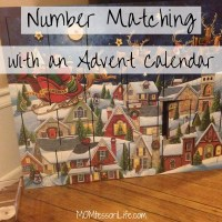 Number Matching with an Advent Calendar