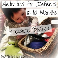 Activities for Infants 5-10 Months - Treasure Basket