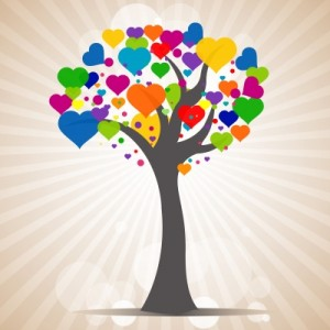 Love makes things grow.