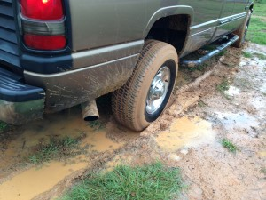 Complaining is like a truck stuck in the mud. It digs a muddy hole and slings blame everywhere.