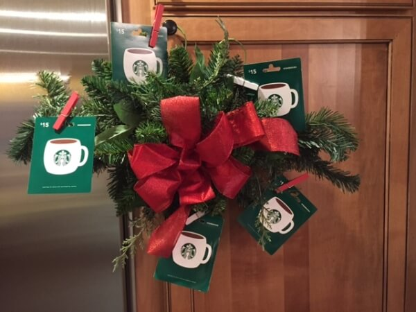 Coffee Lovers Git Wreath