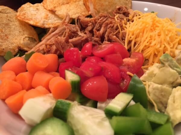 No-Recipe Meal: Easy BBQ Chicken Salad