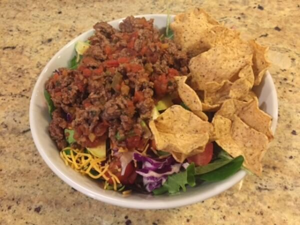 No-Recipe Meal: Easy Taco Salad