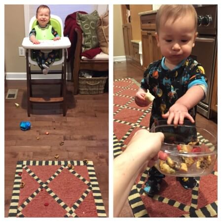 5 Ways to Stop Toddler Food Throwing @katieserbinski