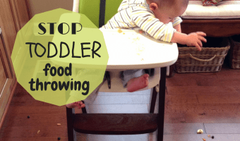 5 Ways to Stop Your Toddler's Food Throwing