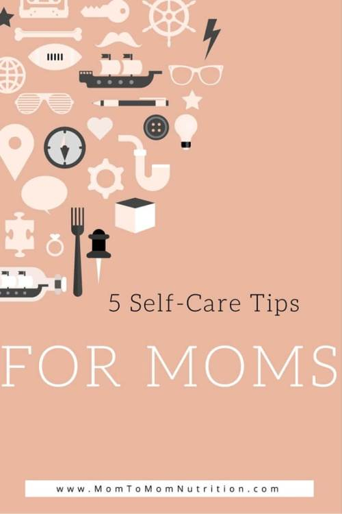 As a mom it's not easy putting yourself before your kids. Learn 5 simple self-care tips that help making you feel like yourself again--- dirty diapers included!