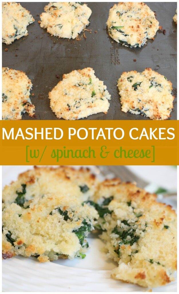 mashed cakes