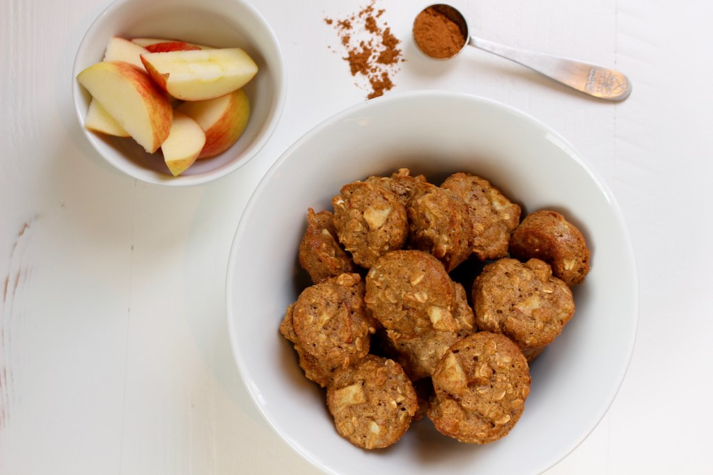 Apple Cinnamon Oatmeal Muffins are the perfect snack or breakfast on the go, made with fresh apples and whole grains.