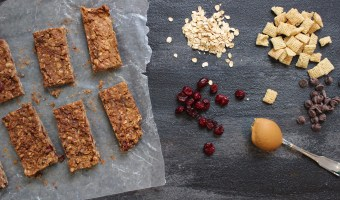 [No-Bake] Peanut Butter Granola Bars