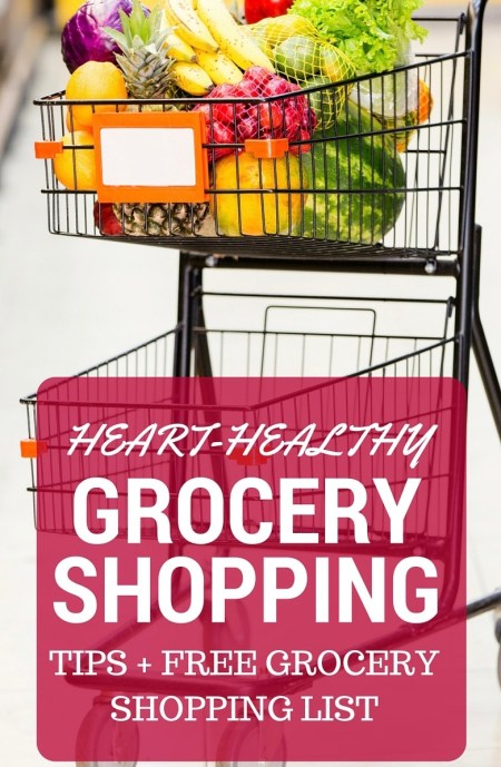 Following a heart-healthy diet plan? Make it easy to spot heart-healthy foods in the grocery store or when dining out by following some simple steps. Be sure to download the free heart-healthy grocery shopping list for your next grocery store outing!