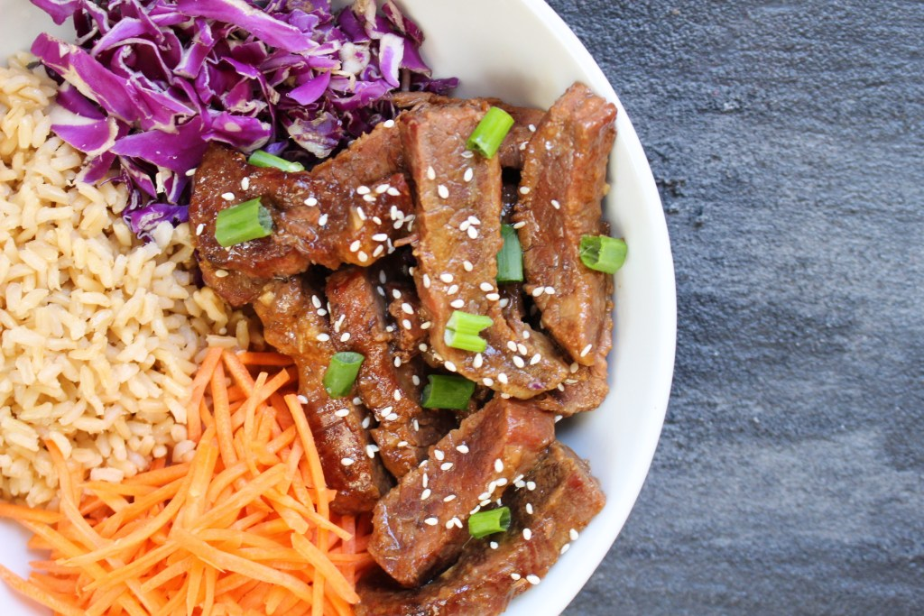 Slow Cooker Asian Beef is tender, flavorful, and an easy alternative to a Chinese takeout version. Add your favorite veggies and whole grains for a one-pot meal!