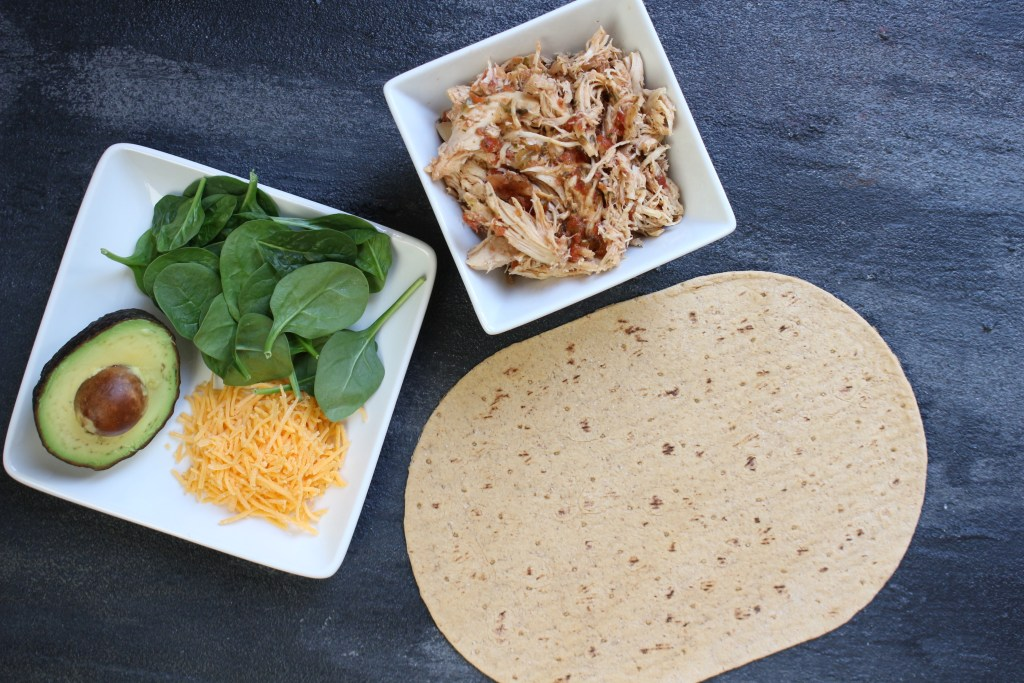 With the help of your slow cooker and the tasty flavor combinations of salsa and ranch, these Salsa Ranch Chicken Wraps make a simple lunch or dinner the whole family can enjoy!
