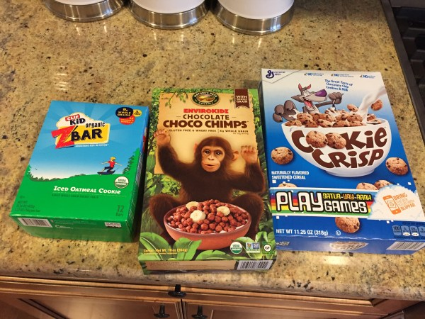 These are our sugar favorites! The Clif Bars are a little tricky with the halfsies trick... but my friend Amelia from Eating Made Easy just made a homemade Clif Bar with less sugar--- you should check out that recipe!