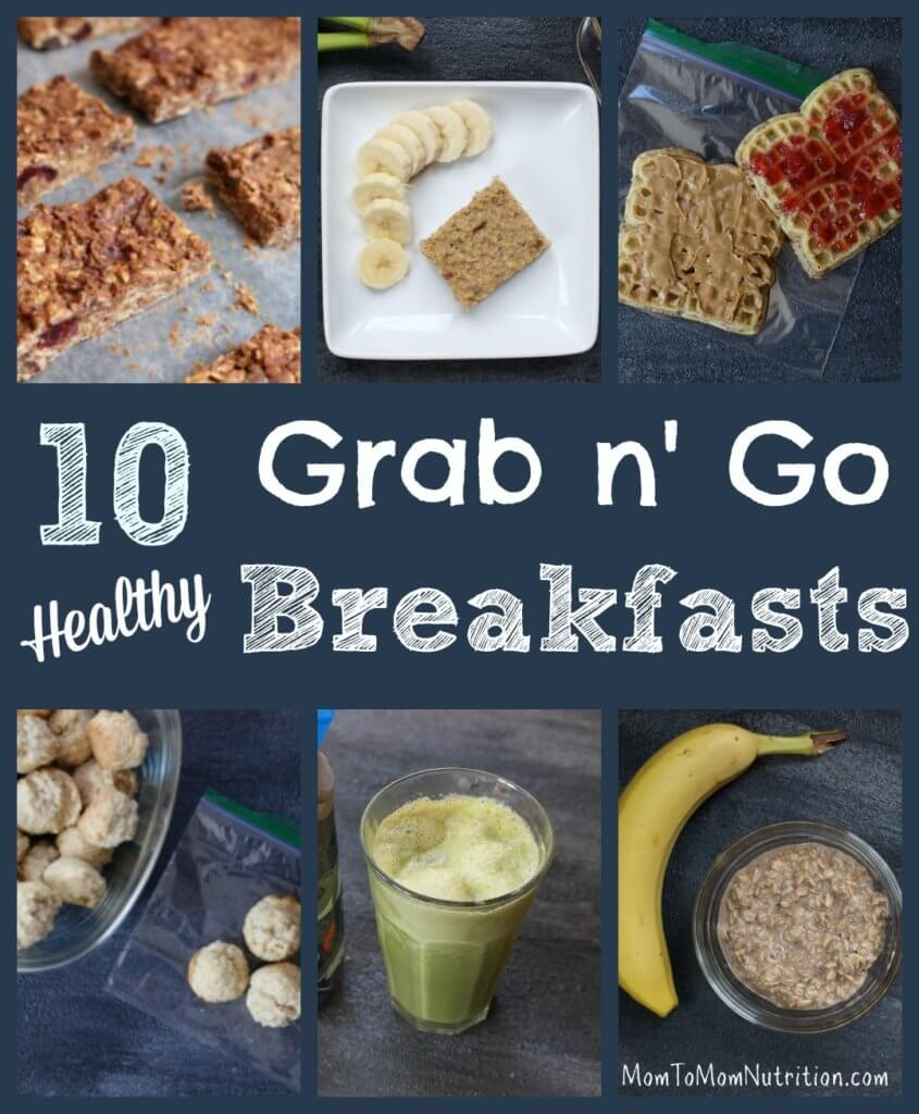 Brunch Ideas At Work: 10 Healthy Grab-and-Go Breakfast Recipes