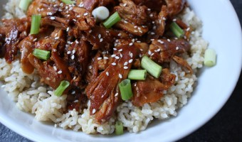 Slow Cooker Sesame Chicken Thighs