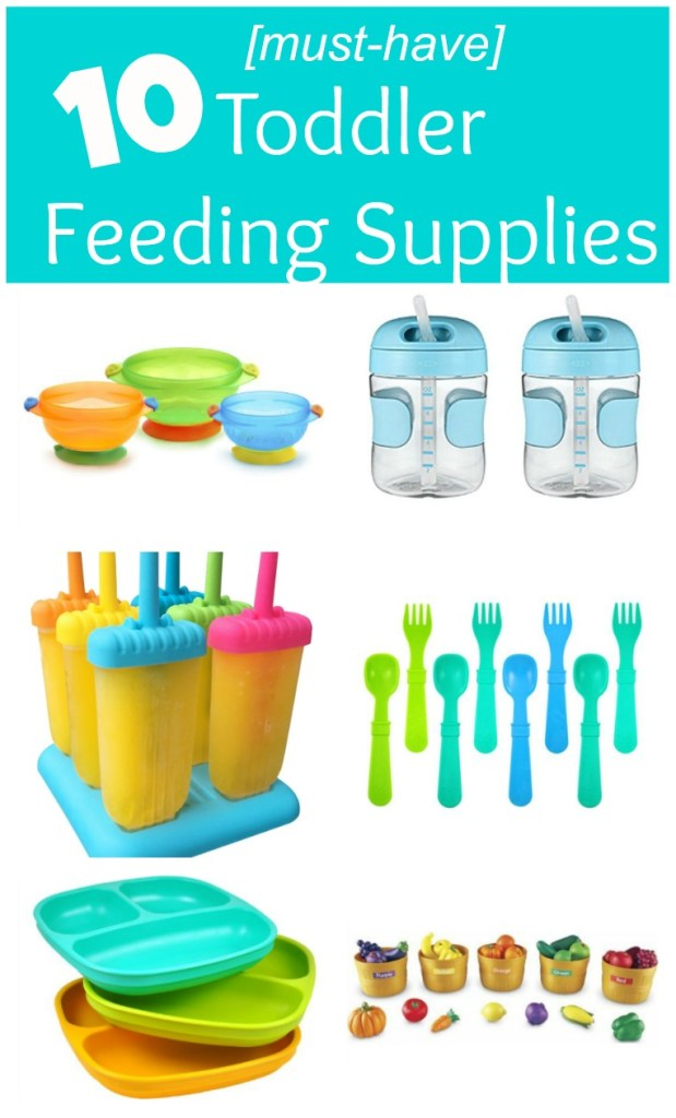 From sippy cups to plates and utensils, make mealtime easier with these top toddler feeding products! #toddlerfeedingproducts #musthavesforfeedingtoddlers #productsforfeedingtoddlers