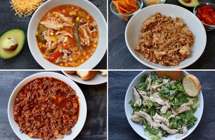 25 Easy Family Dinner Ideas Mom To Mom Nutrition