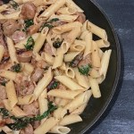 Chicken Sausage and Mushroom Penne