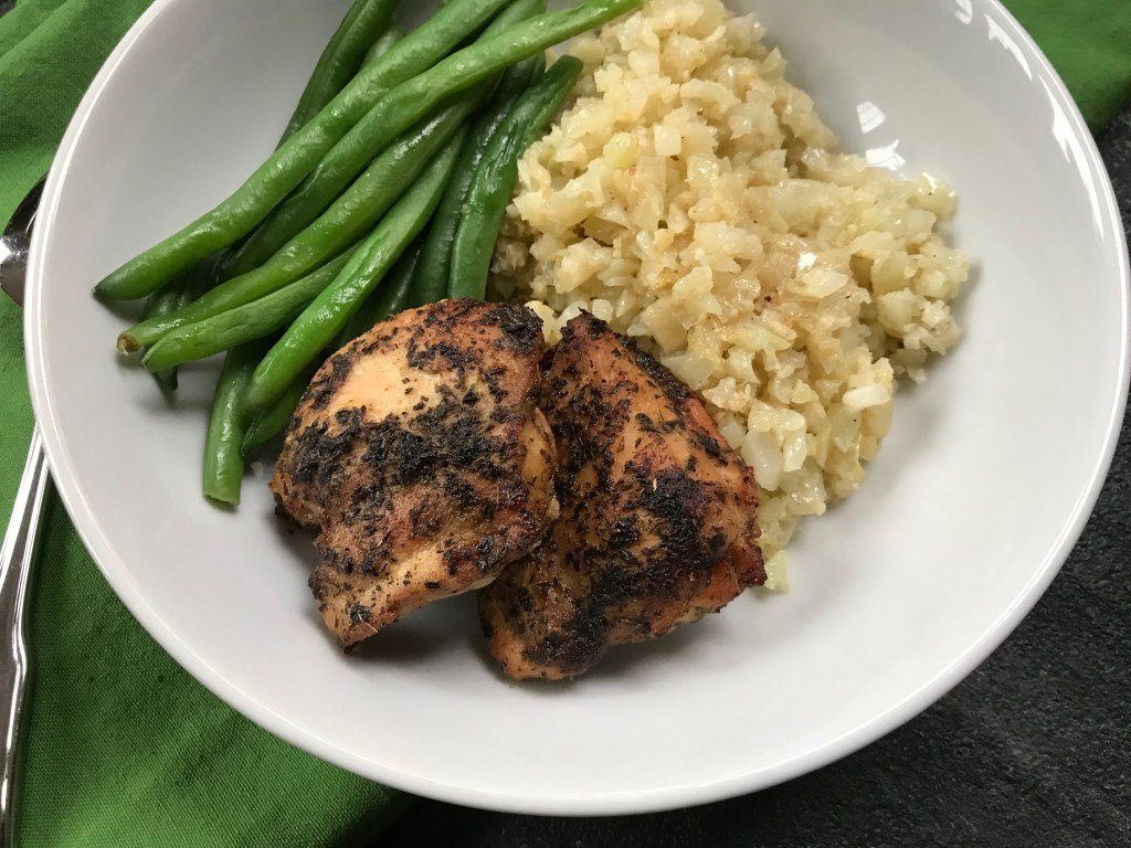 All you need is 5 ingredients and a slow cooker to makeGarlic and Herb Butter Chicken Thighs.