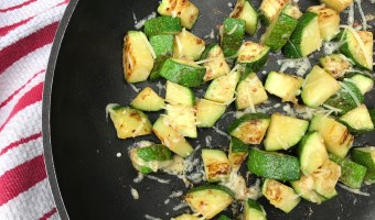 Easy 10-Minute Parmesan Zucchini
