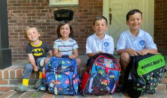 Have a great school year! I know these 4 are ready to learn, eat, and have fun!