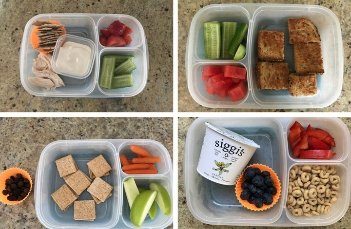 Preschool lunch ideas for toddler and kids.