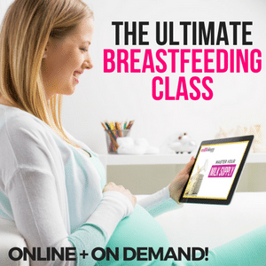 the ultimate breastfeeding class