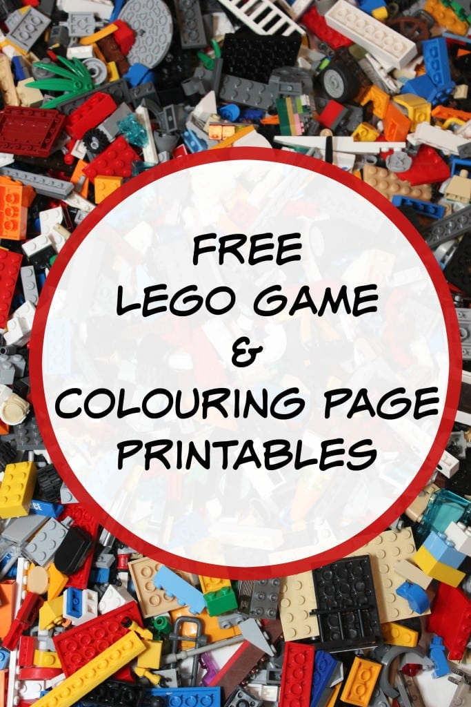 Free LEGO Game Printables Mom Vs The Boys