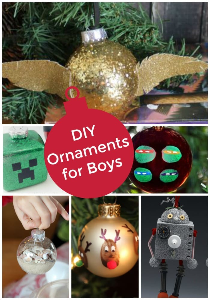 DIY Christmas Ornaments For Boys Mom Vs The Boys