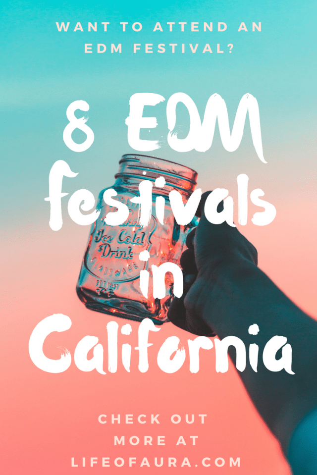 Want to know what EDM festivals to attend in California? Check them out at momwhoraves.com. #edm #festival #festivalseason #california #rave