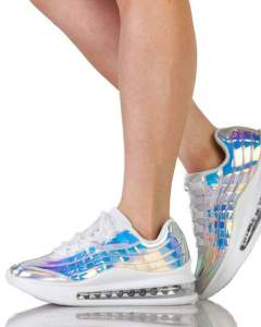 Moon Dancer Silver Holo Sneakers