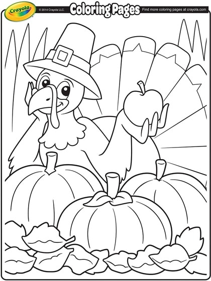 thanksgiving coloring pages # 17