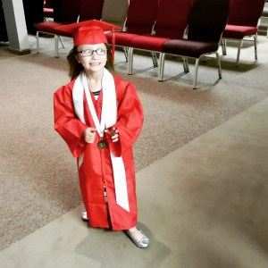 Alyssa Kindergarten Graduation